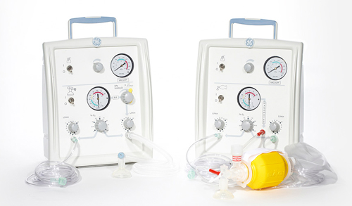 Giraffe Stand-alone Infant Resuscitation System
