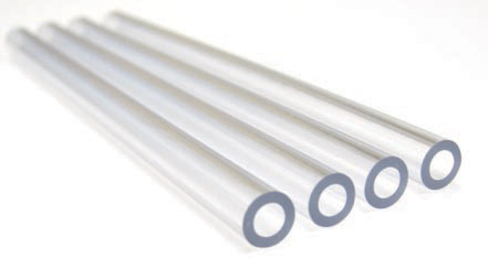 Flexible extruded medical tubing