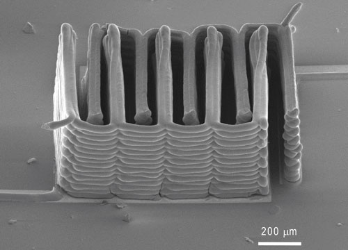3-D printing microbattery