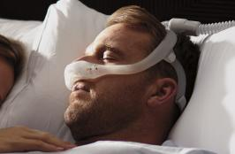 Image of the DreamWear nasal mask courtesy of Philips