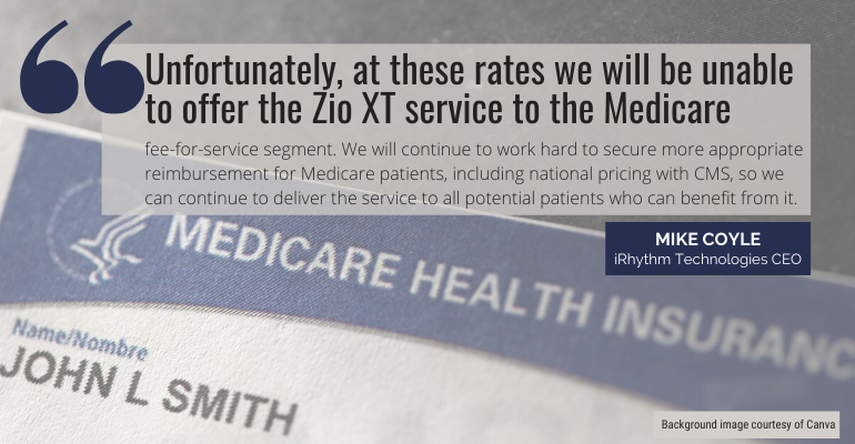 Medicare reimbursement quote