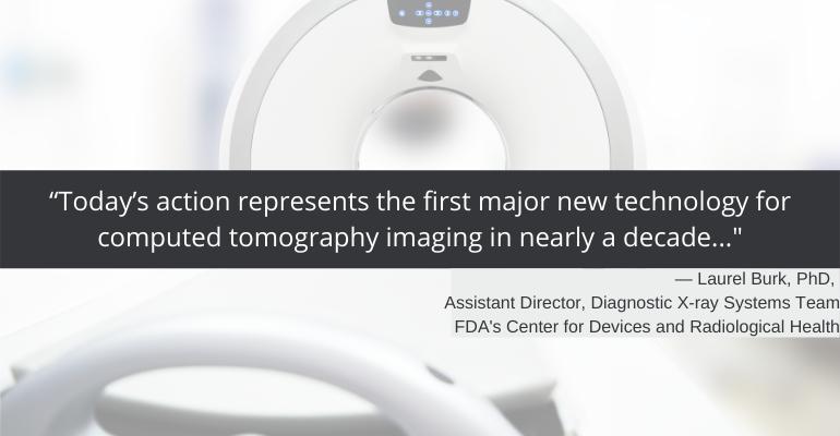 CT imaging advancement