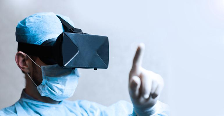 VR training for surgical procedures