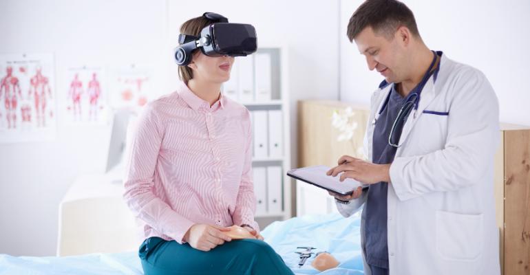 VR therapeutics