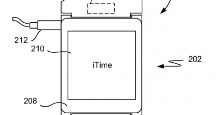 Apple's iWatch Disclosed in Patent Documents
