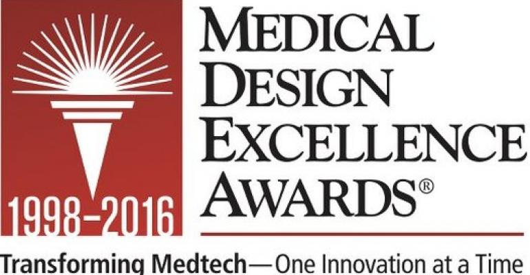 2016 Medical Design Excellence Awards Finalists