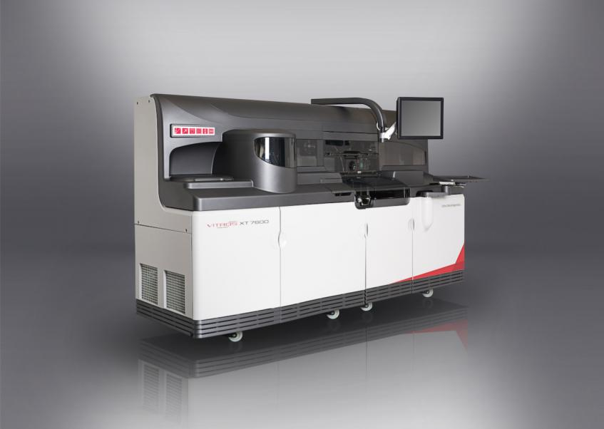 Image of the VITROS XT 7600 courtesy of Ortho Clinical Diagnostics