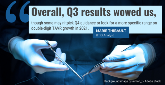 TAVR Pioneer Edwards Lifesciences Wows Analysts with Q3 Results