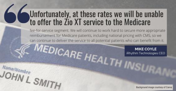 iRhythm Discontinues Zio XT in Medicare Segment Due to Reimbursement Cuts