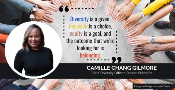 Boston Scientific Diversity Chief: 'The Outcome We're Looking for Is Belonging'