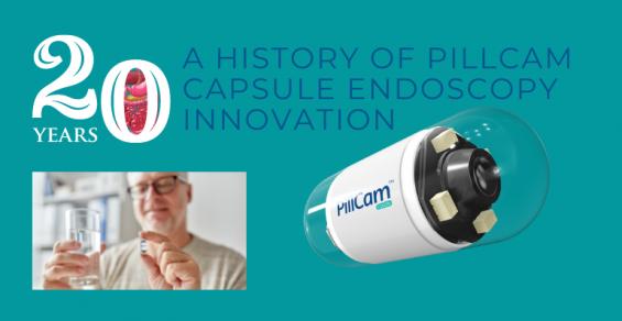 20 Years of PillCam Capsule Endoscopy Innovation
