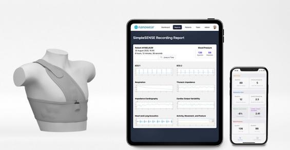 Nanowear Weaves Multiple Markets Together to Provide Remote Diagnostic Platform
