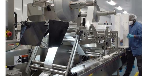 Campbell Wrapper Delivers Flow Wrappers to Web Industries for COVID-19 Tests and More Supplier News