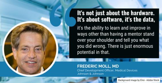 The Moment We've All Been Waiting For: J&J's Surgical Robotics Platform Reveal