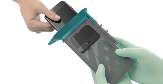 New Sterile Case Enables Surgeons to Use Mobile Devices in the Operating Room