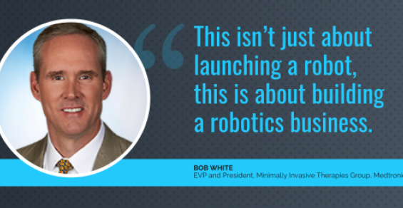 The Moment We've All Been Waiting For: Medtronic's Surgical Robot Unveiled