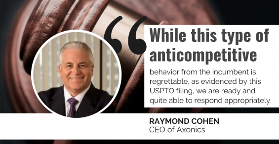 Axonics Fires Back at Medtronic with Patent Review Challenge