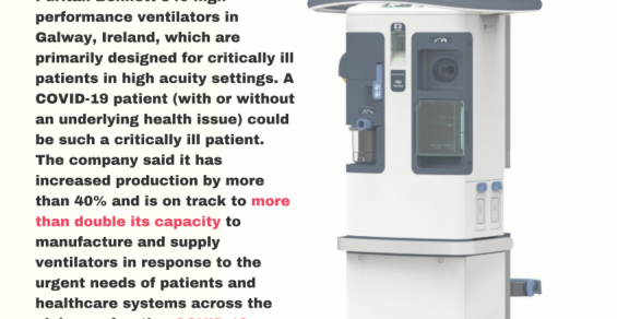 New York Times Article on Failed Ventilator Program Triggers a Response from Medtronic