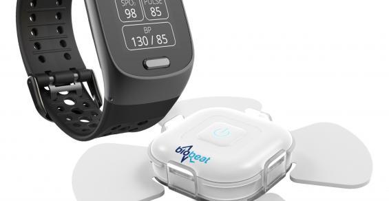 A Smart Watch That Monitors Blood Pressure?