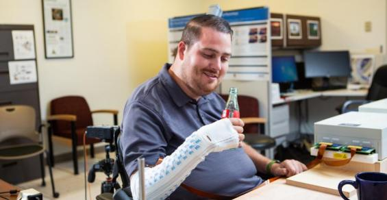 How a Brain-Computer Interface Can Restore the Sense of Touch to a Paralyzed Man