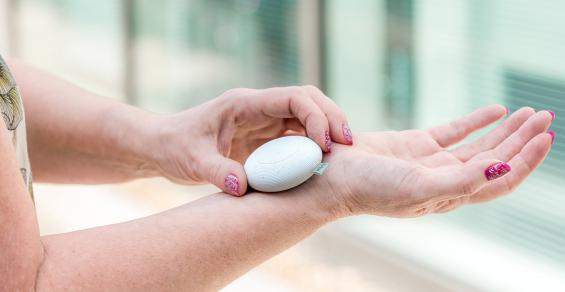 Concept Device Designed to Tame Menopausal Hot Flashes