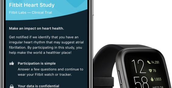 Fitbit Takes Large-Scale AFib Study Virtual