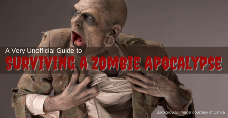 Surviving a Zombie Apocalypse - zombie image